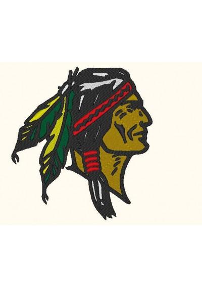 Índio Apache 19x20CM