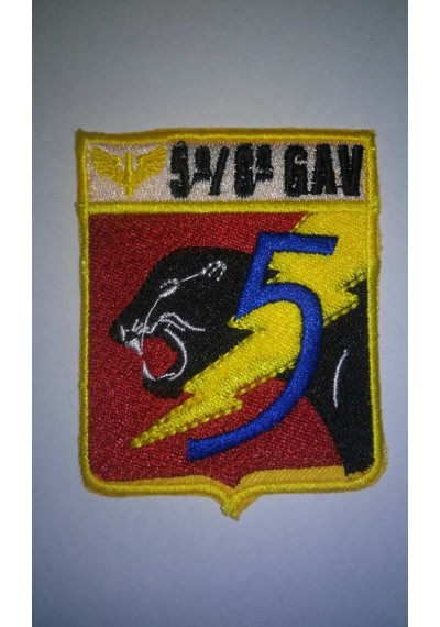 5º/8º GAV - ESQUADRÃO PANTERA  -  9X7 CM