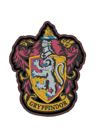 Harry Potter GRYFFINDOR  - 01 11X9 CM
