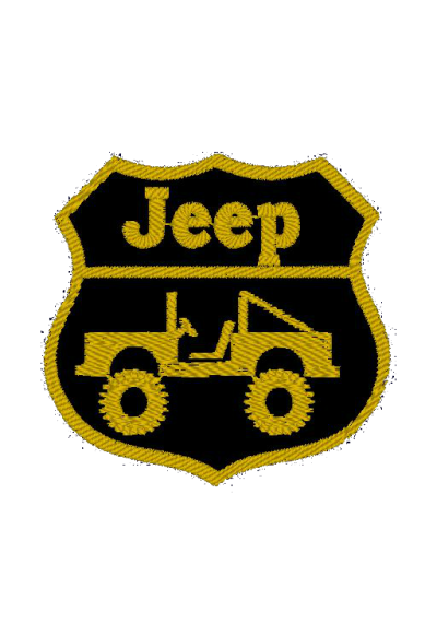 Patch jeep 9X9 CM