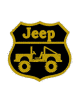Bordados termocolantes Patch jeep 9X9 CM