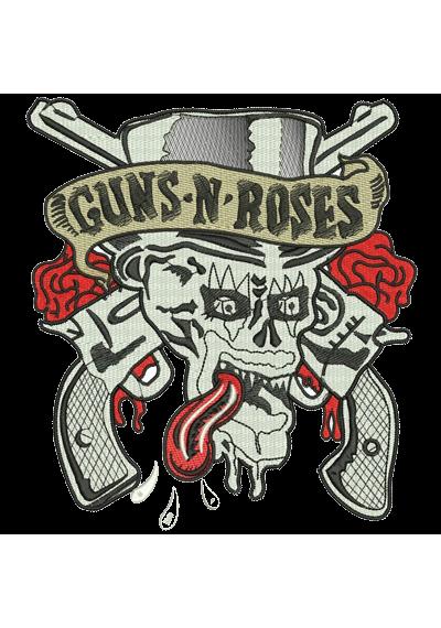 Guns N' Roses  19X18CM