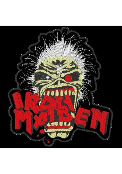 Iron Maiden  19X18 CM