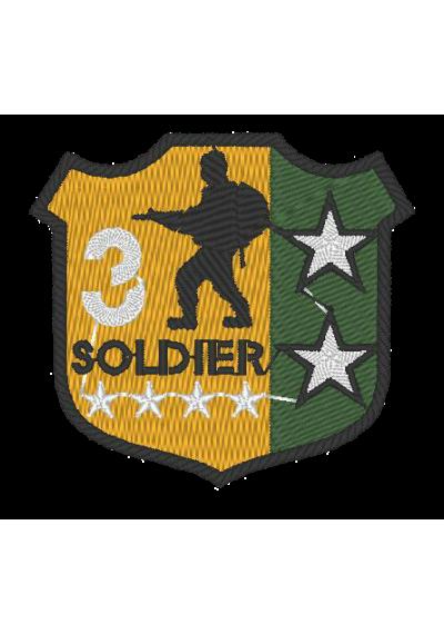 SOLDADO 6X6CM