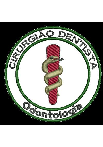 Cirurgião-Dentista  8X8 CM