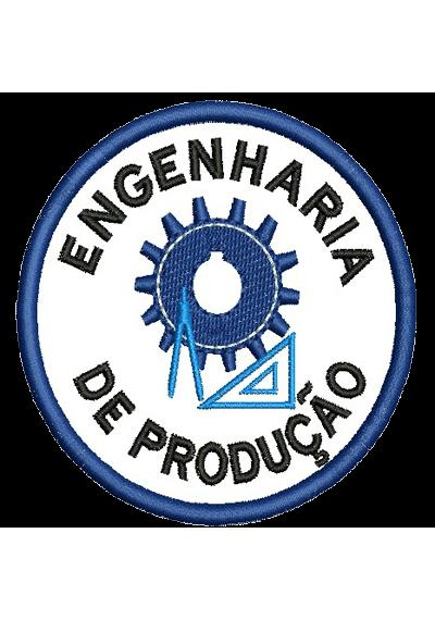 Bordados termocolantes Engenharia de produção 8X8 CM
