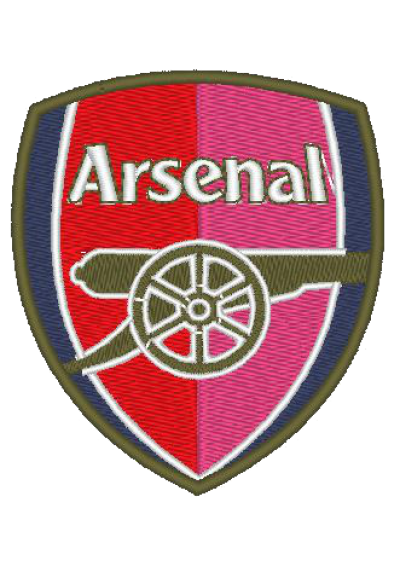 Arsenal Football Club  8X7 CM