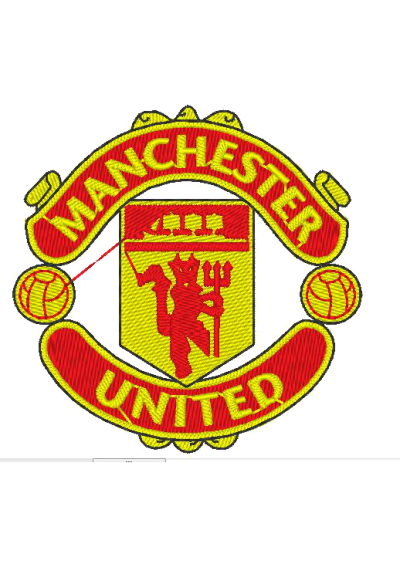Manchester United Football Club 9X9 CM