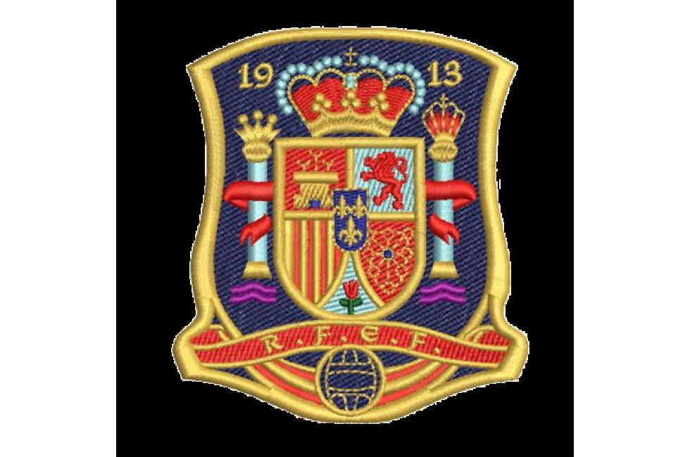 c56c54c9a3506 Bordados termocolantes Seleção Espanhola de Futebol 11X8CM