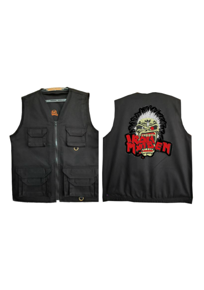 COLETE SAFARI PRETO Iron Maiden