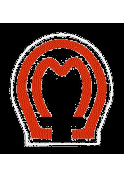 Bordados termocolantes Mangalarga marchador  9X8 CM