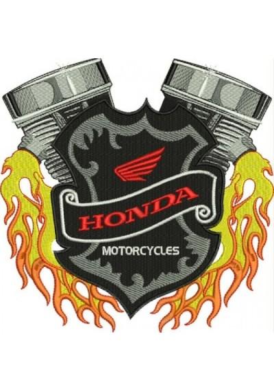 MOTOR HONDA 20X20 CM