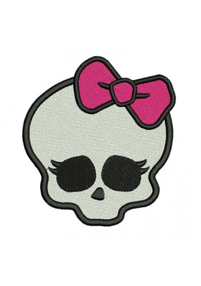 Monster High  Fundo Branco 8X7 CM