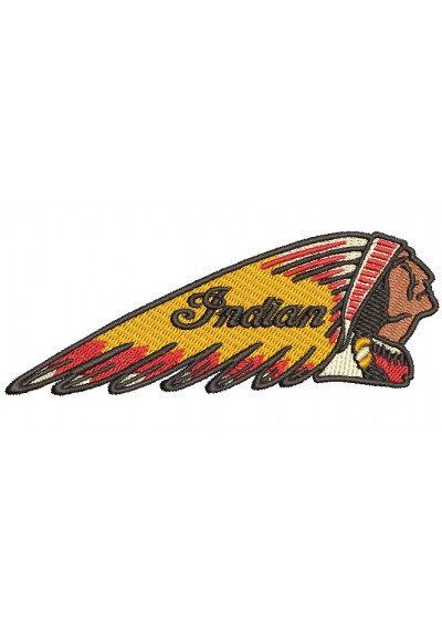 Indian Motorcycles  11x4cm